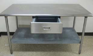 Single Under Shelve Working Table