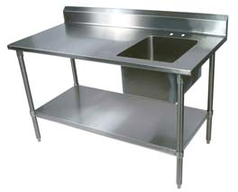 Kitchen Working Table with Sink