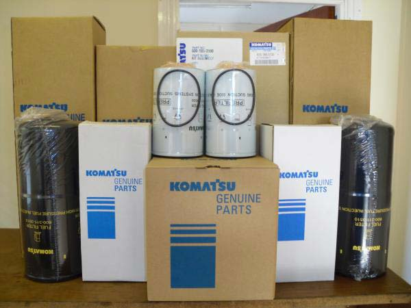 Buy Komatsu Genuine Spare parts from Trackline International Fze