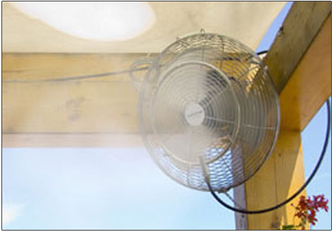 misting fan Buy misting fan in Pune Maharashtra India from Venkateshwara Agrotech Industries