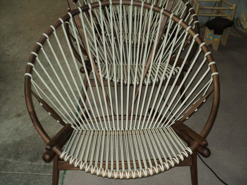 Hans J Wegner Style Pp 130 Hoop Chair