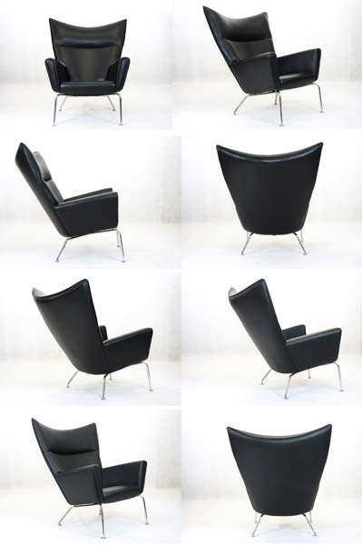 Hans J. Wegner Wing Chair Ch445 (CH1017)