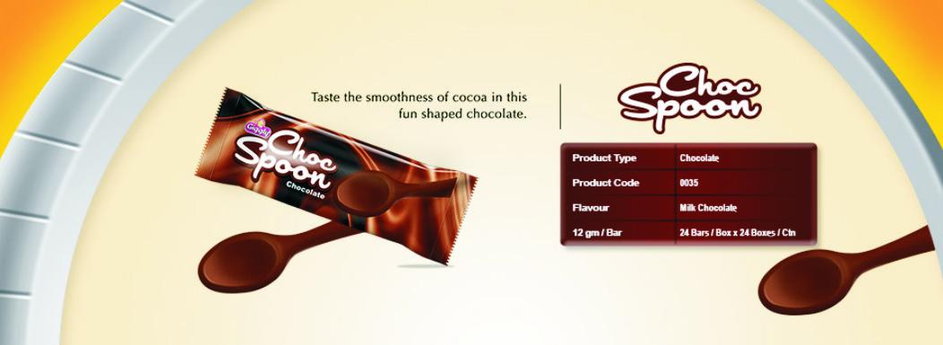 Buy Chocspoon Premium Chocolate from Volka Food