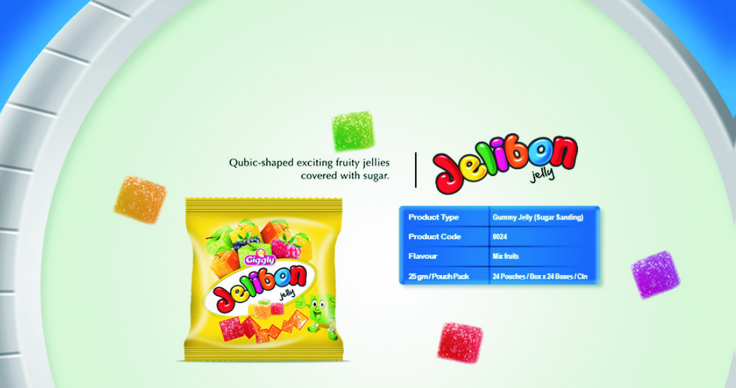 Buy Jellybon Tiny Cube Jelly Candy from Volka Food