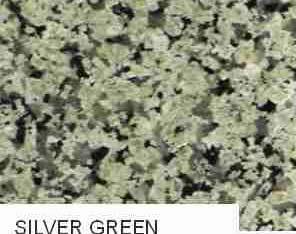 Silver Green Granite Slab