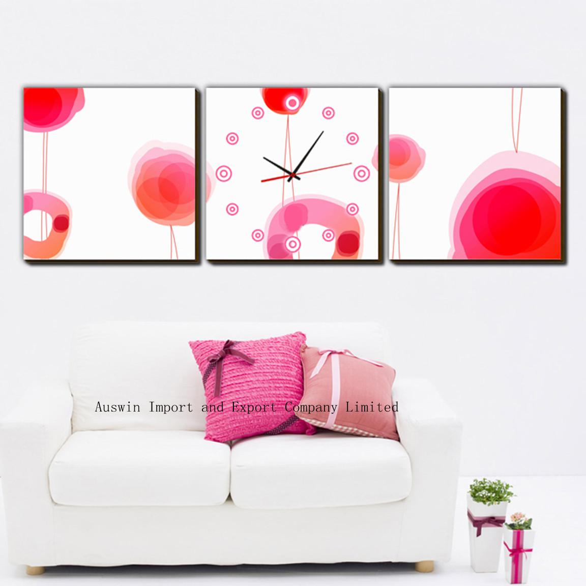 Living room contemporary wall clock hz 008