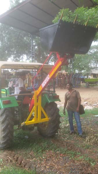 Tractor Back Rear Loader