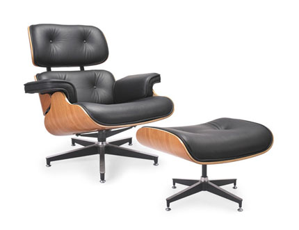 Gef666 Eames Chaise Lounge Chair And Ottoman