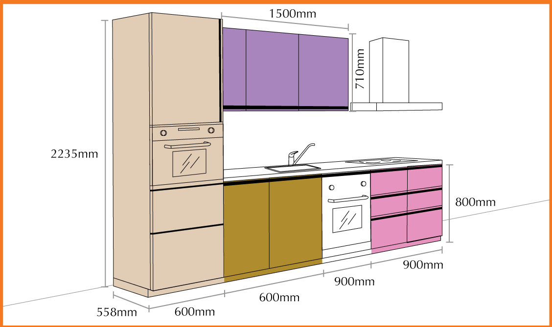Aluminium kitchen cabinet 003 manufacturer manufacturer for Aluminum kitchen cabinets saudi arabia