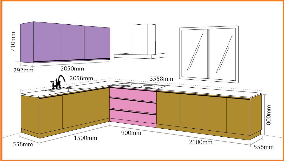Aluminium kitchen cabinet 004 manufacturer manufacturer for Kitchen design lebanon