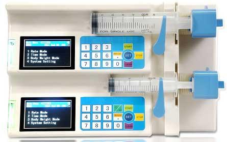 Automatic Double Channels Syringe Pump (MM-SIP003)