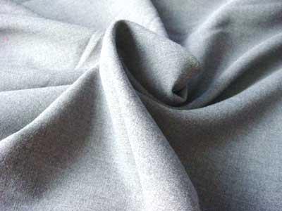 Grey Drill Weave Cotton Fabric