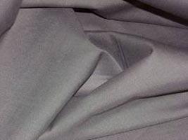 Grey Satin Weave Cotton Fabric