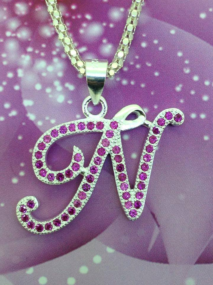 Necklace with Letter N Pendant Manufacturer in manila Philippines