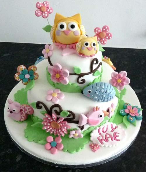 Customized Birthday Cakes With Name