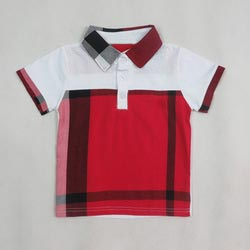 f5ed6b264 Boys Checkered Polo T-Shirts Manufacturer & Exporters from Tirupur ...