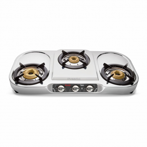 steel gas stove