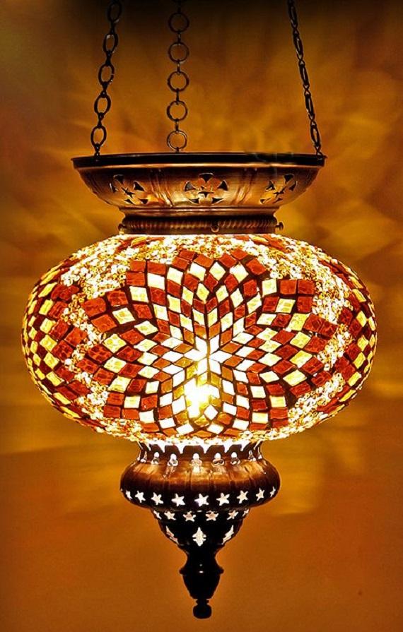 Unique Turkish Mosaic Lamps