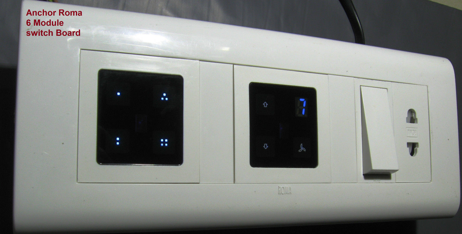 4+4 / 8 Module Switch Board Manufacturer in Hyderabad Andhra Pradesh ...