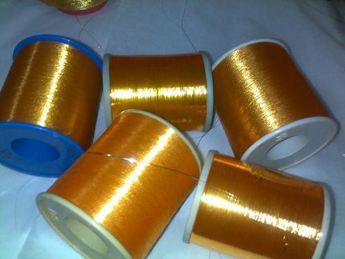 Weaving Gold Flora Zari Yarn for Making Sarees