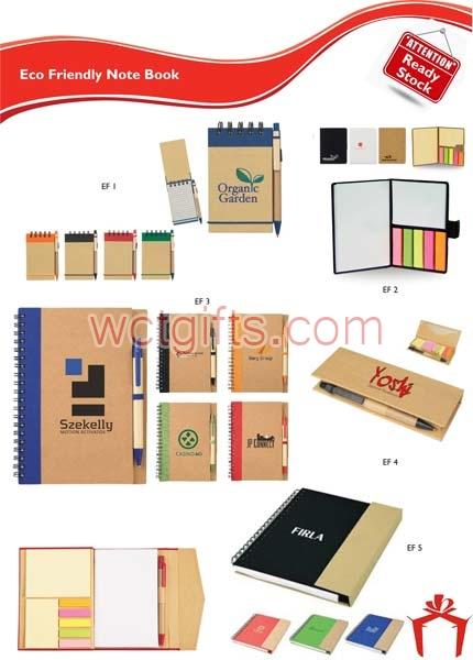 Eco Friendly Note Books