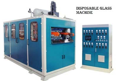 Thermoforming Plastic Glass Making Machine