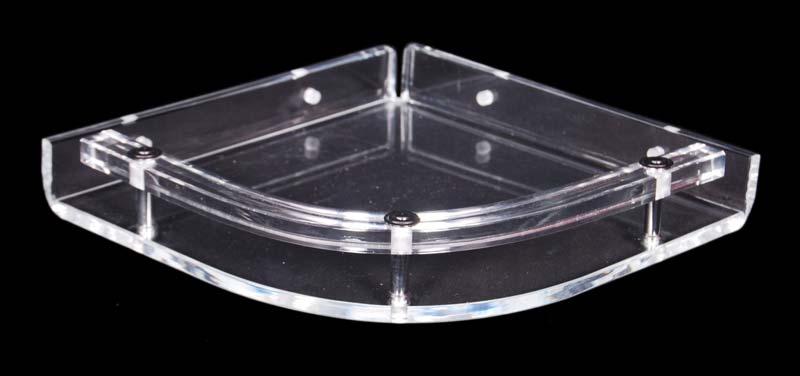 acrylic corner shelves manufacturer manufacturer from delhi india rh exportersindia com