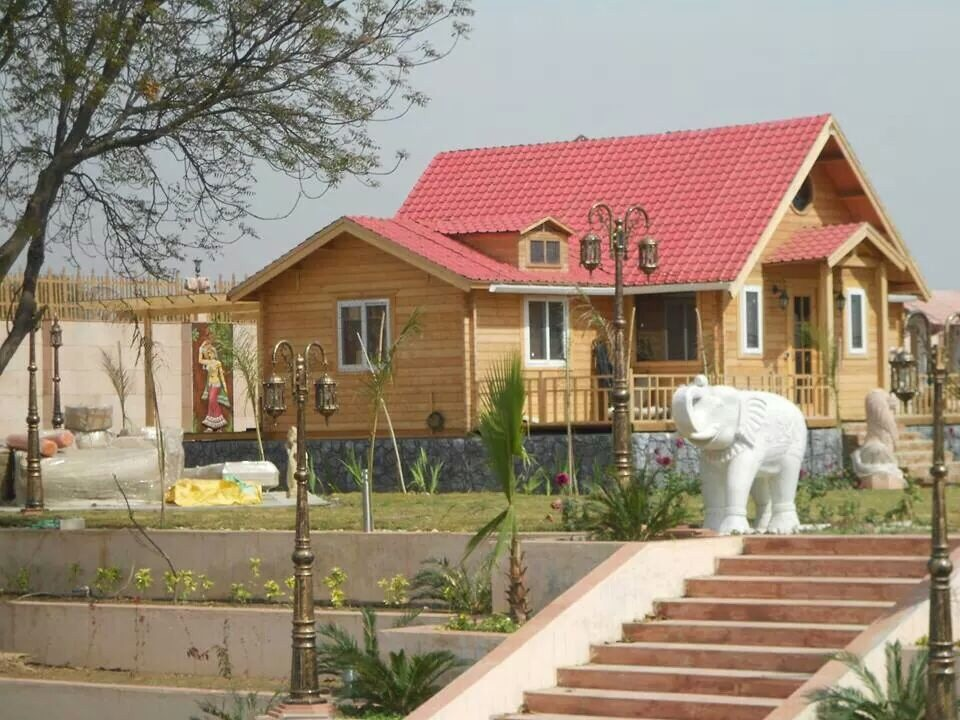 Wooden Houses Manufacturer In Delhi India By Hs Roma Infrastructure