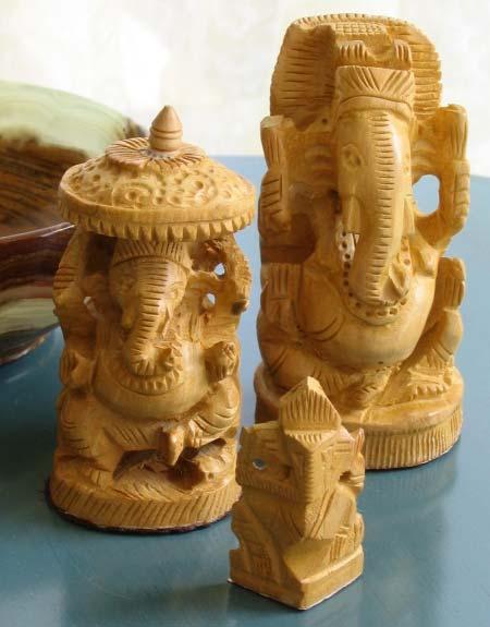 Buy Wooden Ganesh Statue From Vasudev Handicrafts Jaipur India