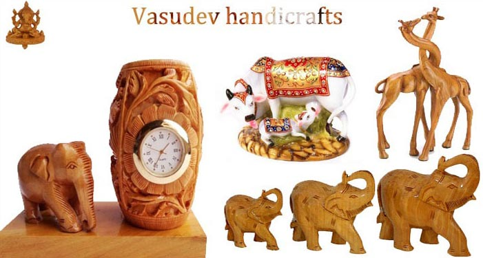 Buy Wooden Handicrafts Exporters From Vasudev Handicrafts Jaipur