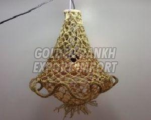 Handmade Rope Chandelier