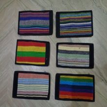 cotton mens wallet