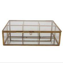 Glass Metal Storage Boxes