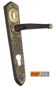 Abp 03 Brass Mortice Door Handle