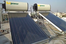 Domestic Solar Water Heating System