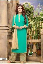 Blue Designer Patiyala Salwar Suit