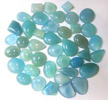 Aqua Chalcedony Loose Gemstone