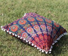 Mandala Rounud Cushion Cover