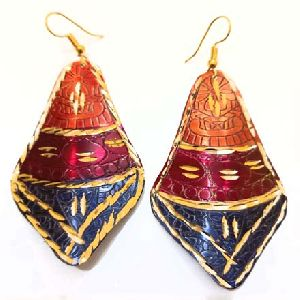 Gold Plated Earrings Jewelry