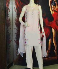 Pakistani Designer Embroidered Kurta With Pant