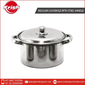 Casserole With Steel Handle