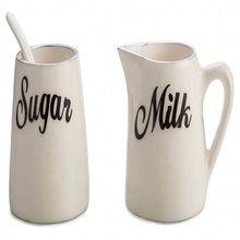 Milk Sugar Pots