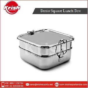 Stainless Steel Bento Square Lunch Box