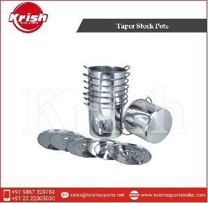 Stainless Steel Taper Stock Pots