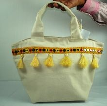 front cotton tote bag