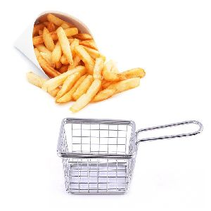 Stainless Steel French Fries Oil Colander