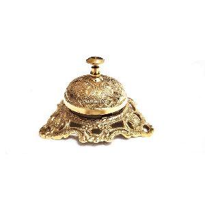 Brass Antique Vintage Reception Call Bell