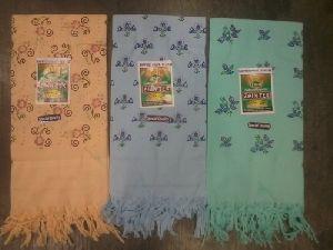 Colour Printed Cotton Towel
