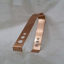 Stainless Steel Copper Plated Ice Tong