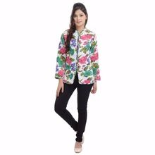Cotton Long Quilted Jacket